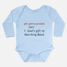 Pit Definition Long Sleeve Infant Bodysuit