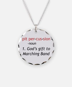 Pit Definition Necklace Circle Charm