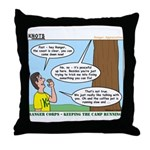 Scout Ranger Corps Throw Pillow