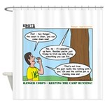 Scout Ranger Corps Shower Curtain