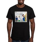Home Repair Men's Fitted T-Shirt (dark)