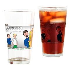 Home Repair Drinking Glass