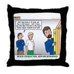 Home Repair Throw Pillow