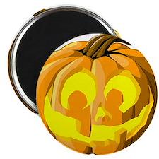 """Jack O Lantern 2.25"""" Magnet (10 pack)"""