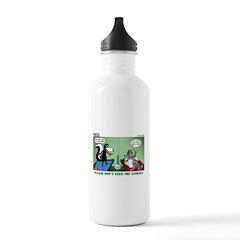 Skunk and Raccoon Snack Water Bottle