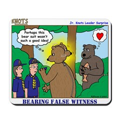 Bear Surprise Mousepad