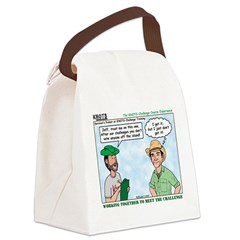 Scout Challenge Course Canvas Lunch Bag