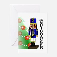 Nutcracker Ballet Greeting Card