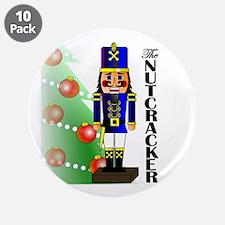 "Nutcracker Ballet 3.5"" Button (10 pack)"