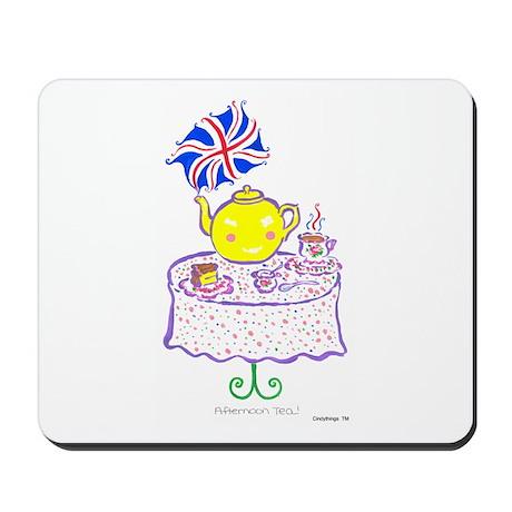 Afternoon Tea Mousepad