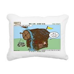 Camp Gadgets Rectangular Canvas Pillow