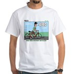 Bike Hike White T-Shirt