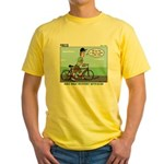 Bike Hike Yellow T-Shirt