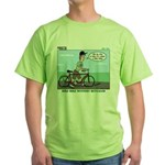 Bike Hike Green T-Shirt