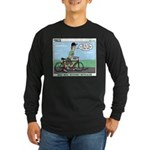 Bike Hike Long Sleeve Dark T-Shirt