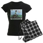 Bike Hike Women's Dark Pajamas