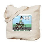 Bike Hike Tote Bag
