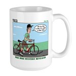 Bike Hike Large Mug