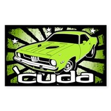 'Cuda - Sub Lime Decal