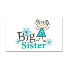 Big Sister Car Magnet 20 x 12