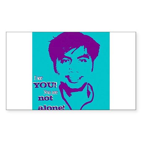 Nelson Alcantara's Anti-Bullying Campaign Sticker
