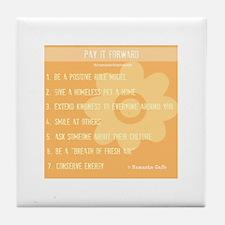 Pay it Forward: 1 Tile Coaster