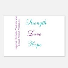 Strength Love Hope Postcards (Package of 8)