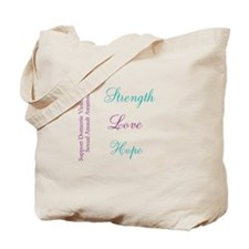 Strength Love Hope Tote Bag