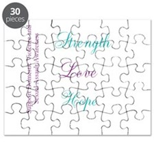Strength Love Hope Puzzle