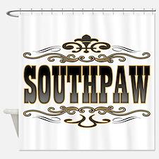 Southpaw Swirl Shower Curtain
