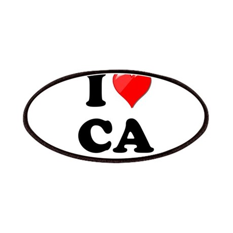 I Heart Love CA California.png Patches