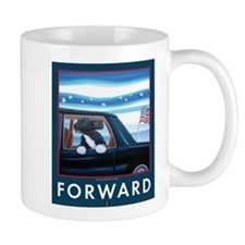 Forward with Bo, the 1st Dog Mugs