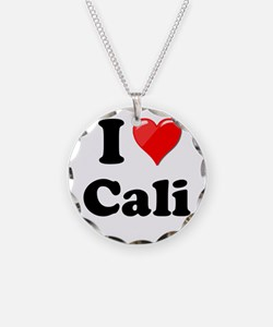 I Heart Love Cali California.png Necklace