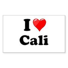 I Heart Love Cali California.png Decal