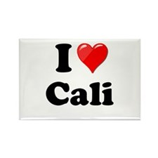 I Heart Love Cali California.png Rectangle Magnet
