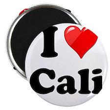 "I Heart Love Cali California.png 2.25"" Magnet (100"