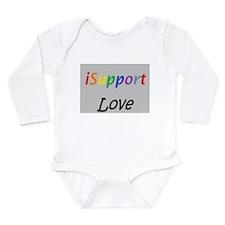 iSupport Love- iSupport Long Sleeve Infant Bodysui