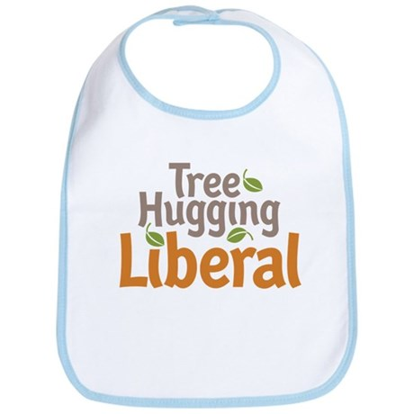 Tree Hugging Liberal Bib