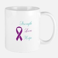 Cute Domestic violence purple ribbon Mug