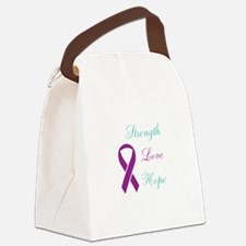 Cute Domestic violence Canvas Lunch Bag