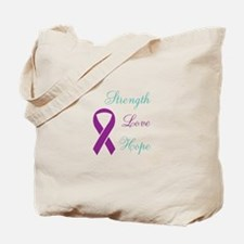 Cute Domestic violence sexual assault support Tote Bag