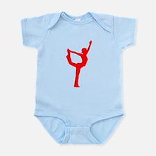 Yoga Dance Pose Infant Bodysuit