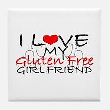 I love my Gluten Free Girlfriend Tile Coaster