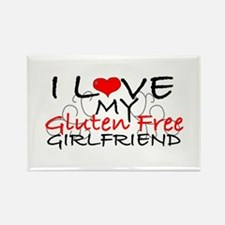 I love my Gluten Free Girlfriend Rectangle Magnet