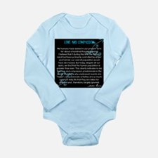 Love and Compassion, Dalai Lama Long Sleeve Infant