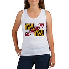 Maryland flag Women's Tank Top