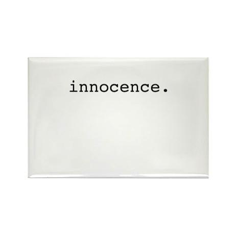innocence. Rectangle Magnet