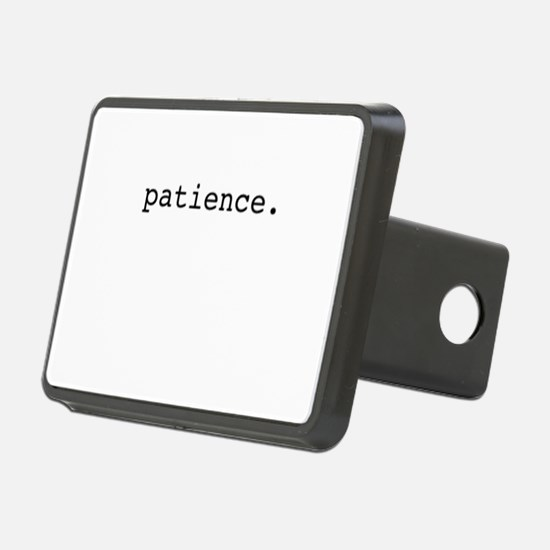 patience. Hitch Cover