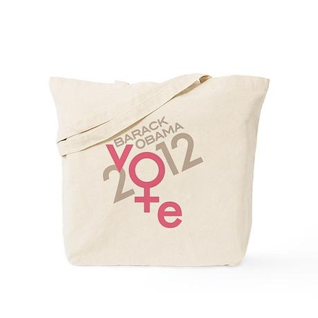 Women Vote Obama Tote Bag
