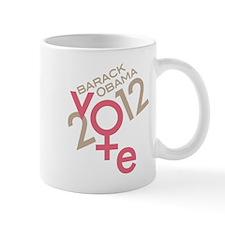 Women Vote Obama Mug